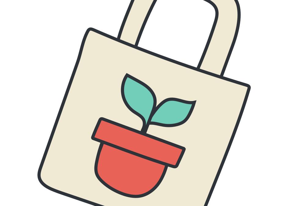 Trucs et astuces #ZeroDechet: le sac de courses Do It Yourself