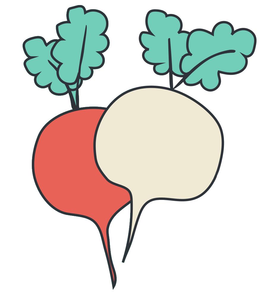 Trucs et astuces #ZeroDechet: la soupe de fanes de radis