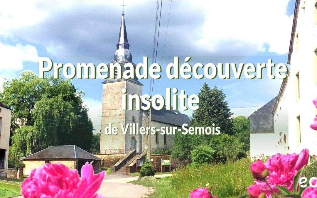 Promenade découverte insolite du village de Villers sur Semois