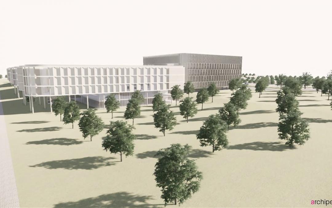 Projet Vivalia 2025 – Futur hopital à Houdemont