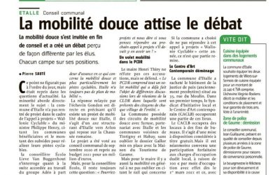 Projet Wallonie-Cyclable et Etalle ?